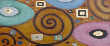 Klimt-spirals